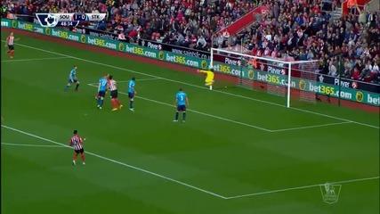 ВИДЕО: Саутхемптън - Стоук Сити 1:0