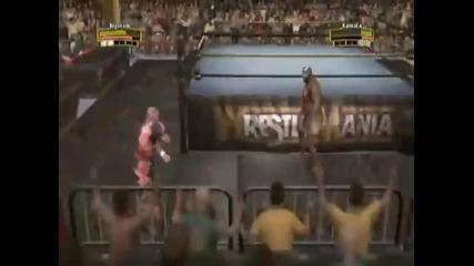 Legends of Wrestlemania Bam Bam Bigelow vs Kamala