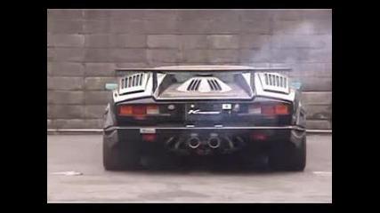 Zverski Zvuk Na Lamborghini Countach Lp500