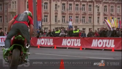 2 stage Eastern European Championship of Stuntriding. Promo video.