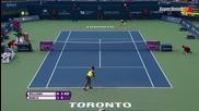Serena Williams vs Belinda Bencic 1/2 Toronto 2015 Set-2