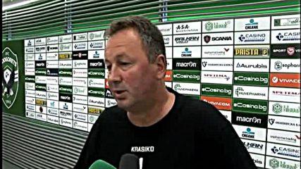 Ангел Червенков: Целта ни е да запазим мястото си