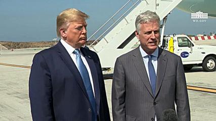 USA: Trump names Robert O'Brien as new national security adviser