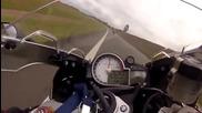 Луда гонка по магистралата между - Bmw S1000rr X Cbr1000