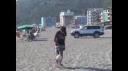 Giuliano Kulli at Shengjini Beach Albania /sumer 2007/