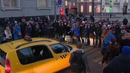 Russia: Protesting mortgage holders hit Moscow streets