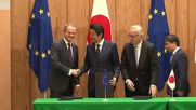 Japan: EU and Japan sign landmark trade deal in Tokyo