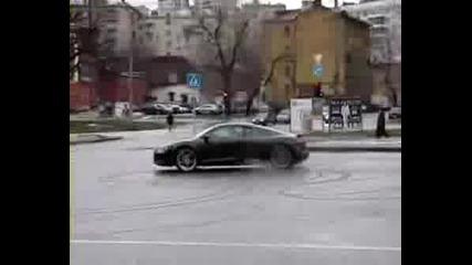 Audi R8 Лек Дрифт