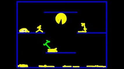 Stickman Vs Pacman