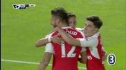 Оливие Жиру прониза вратата на Уотфорд за успех на Арсенал