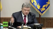 Ukraine: Poroshenko orders high-level investigation into Rada grenade attack