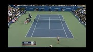 Oudin vs. Wozniacki Us Open 2009