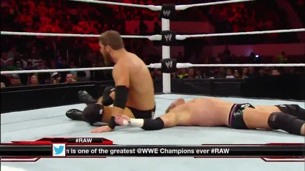 Dolph Ziggler vs. Curtis Axel- Raw, Dec. 30, 2013