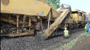 Ето как се строят железопътни линии в 21 век!