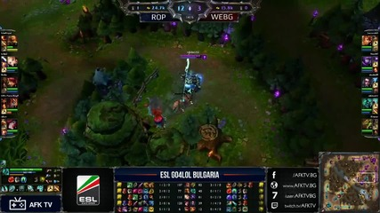 Go4lol #144 Rakia Op срещу Wooden Elo Bg