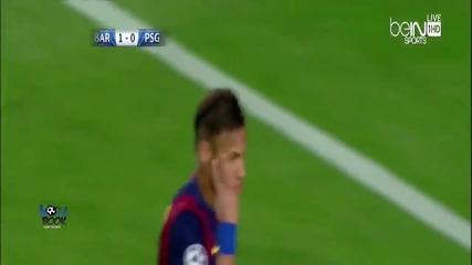 Барса отново срази Псж и с лекота е на полуфинал! 21.04.2015 Барселона - Пари Сен Жермен 2:0