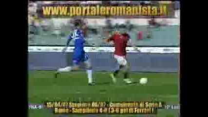 Roma - Sampdoria (3 - 0 Ferrari)