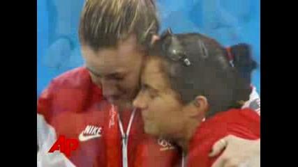 Шампионките в плажния волейбол от Пекин 2008 - Кери и Мисти