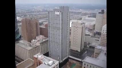 Събаряне на огромна сграда