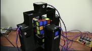 Робот нареди кубчето на Рубик за 1 секунда