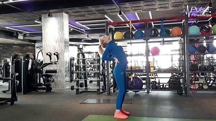 Стречинг тренировка с Ирена Райнова