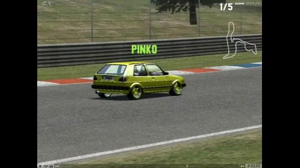 Live For Speed Vw Golf 2