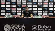 Димитър Кузманов след успеха над Музети на Sofia Open 2021