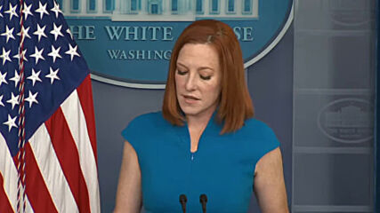 USA: Biden wasn't 'looking to influence' Chauvin jury says White House's Psaki