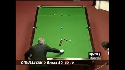 Ronnie OSullivan Maximum Break - 147