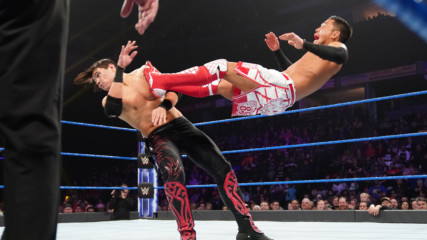 Akira Tozawa vs. Cedric Alexander vs. Humberto Carrillo vs. Lio Rush - Fatal 4-Way Elimination Match: WWE 205 Live, Feb.
