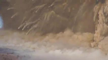 Невероятни кадри от вулкана Kirishima