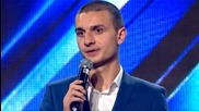 Кристиян Янкулов - X Factor (01.10.2015)