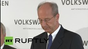 Germany: Volkswagen will emerge stronger out of the crisis - New chairman of VW
