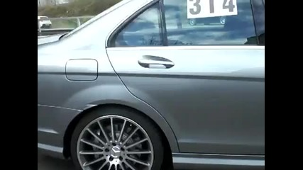 Mercedes Benz C 63 Amg - Ускорение