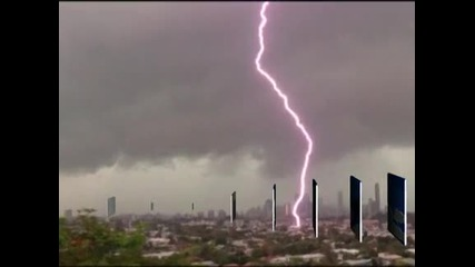 Гръмотевична буря удари австралийския град Брисбейн