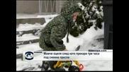 Момче оцеля,след като прекара три часа под снежна преспа
