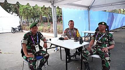 Indonesia: 200,000-strong security force deployed at Asian Games