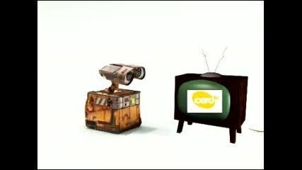 Walle and the Tv
