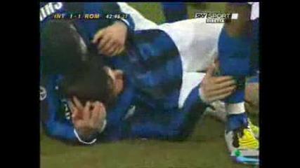 Javier Zanetti Gol Roma Plus Avril