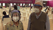 Peru: Mass vaccination of seniors over 80 begins in Pan American Games sports centre