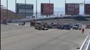 Трагедия в Лас Вегас, шампион загина в пламъци след зверски удар!!!