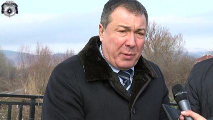 Николай Димитров кмет на Несебър - откриване на нов мост Оризаре