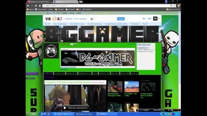 Bg-gamer с нов авторски дизайн в Vbox7