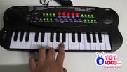 Www.toyloco.co.uk Music Maker Electronic Keyboard Kids Piano Hs3210via torchbrowser.com