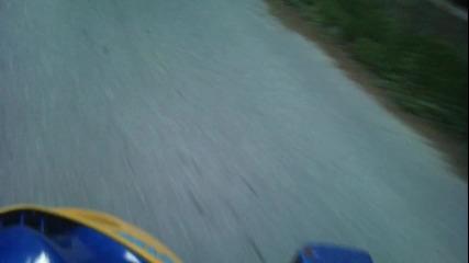 Малко возене на Яз.доспат - Yamaha Aerox Valentino Rossi replica