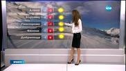 Прогноза за времето (15.02.2015 - обедна)