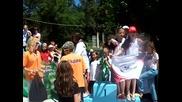 Награждаване на смесената момичешка щафета на Пск Черно Море-армеец в Сандански 2011!