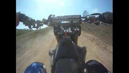 Mотокрос Мездрея 2011 Go Pro
