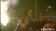 Погроми, десетки ранени и арести след Лацио - Рома 3 2 - Видео Европейски футбол - Sportal.bg