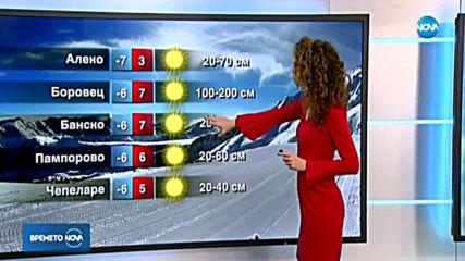 Прогноза за времето (23.01.2020 - централна емисия)